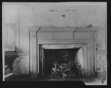 Fireplace, New Orleans or Charleston, South Carolina