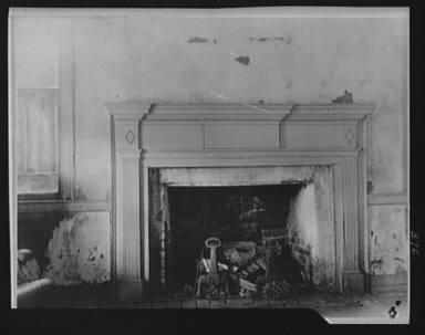 Fireplace, New Orleans or Charleston, South Carolina