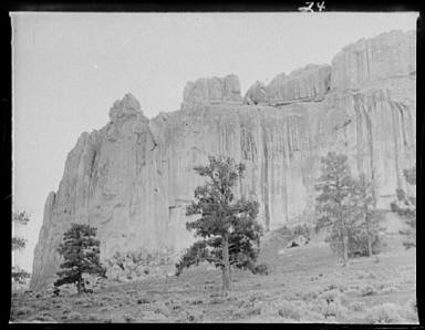Inscription Rock, El Morro National Monument, New Mexico