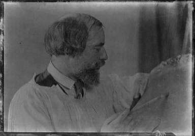 John, Augustus, Mr., portrait photograph