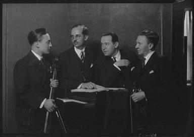 Symphonic String Quartet, portrait photograph