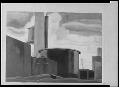 Oscar Bluemner's paintings