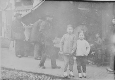 Two sheenies, Chinatown, San Francisco
