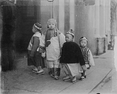 Children were the pride, joy, beauty, and chief delight of the quarter, Chinatown, San Francisco