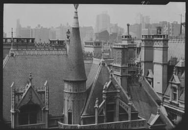 Upper story of the William K. Vanderbilt mansion, 5th Ave. at 52nd Street, New York City