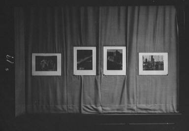 Exhibition of Arnold Genthe's photographs