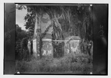 Packenham ruins, New Orleans