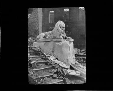 Aftermath of the San Francisco earthquake and fire of 1906