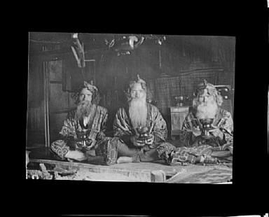 Ainu chiefs at Piratori