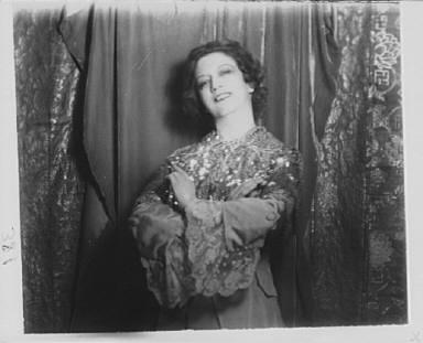 Portrait photograph of Elizabeth Arden