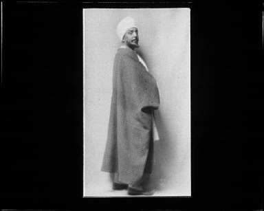 Portrait photograph of Otis Skinner in Kismet