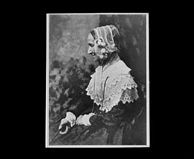 Portrait photograph of Mrs. Rigby (Anne Palgrave)