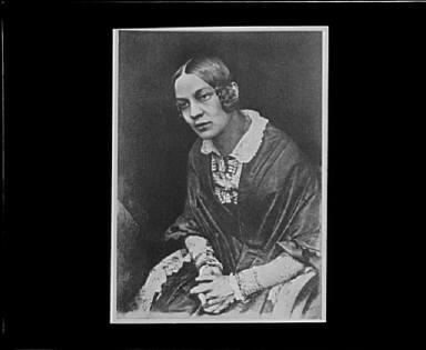Portrait photograph of Miss Matilda Rigby
