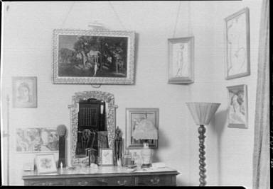 Albert Rothbart's apartment