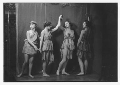 Irma Duncan dancers