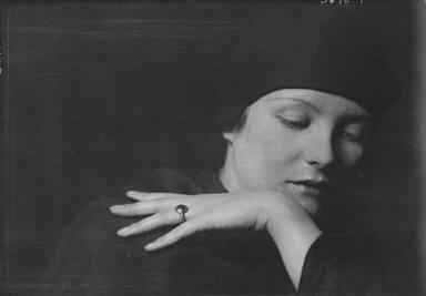 Virchow, Mrs., portrait photograph
