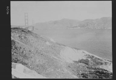 View of Golden Gate Bridge, San Francisco