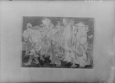 Hokusai sketch