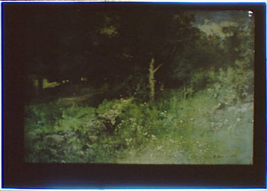 Photograph of a landscape painting by George Inness