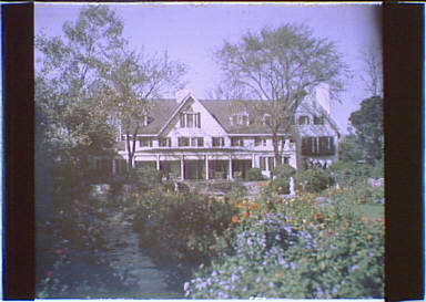 Grounds and residence of the Myron C. Taylor property, Locust Valley, Long Island, New York