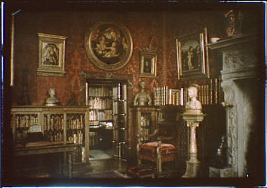 Interior of J.P. Morgan's library