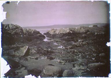 Rocky beach in the Carmel, California area