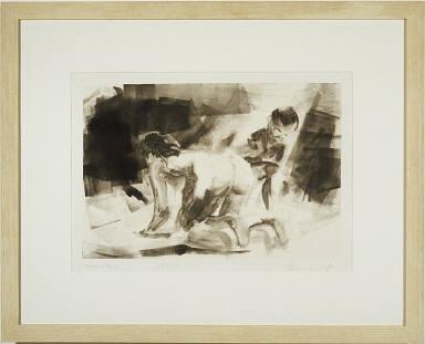Untitled 12-11-86 (Two Kneeling)