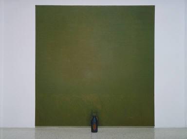 Milk Bottle Painting (Green)