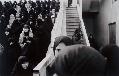 Demonstration in a Stadium, Tabriz