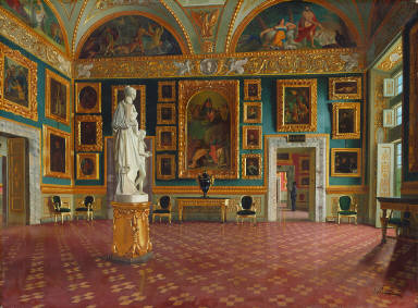 Sala dell'Illiade in the Pitti Palace, Florence