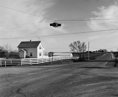 Stop Lamp Near Elk River, Minnesota