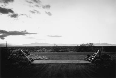 Cattle Guard -- Vicinity of Truth or Consequences, New Mexico