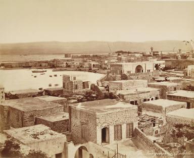Tyr., vue générale, Palestine