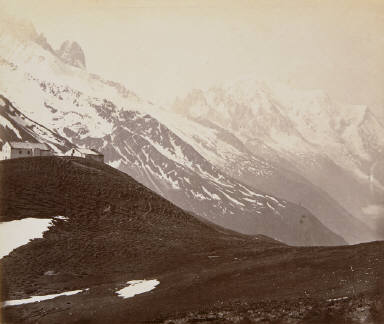 Mount Blanc from Col de Balve