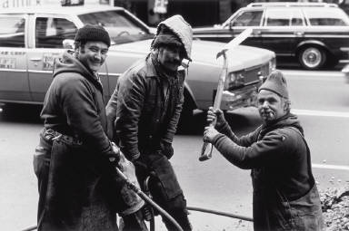 Streetworkers, New York City