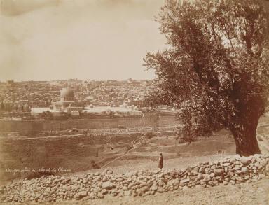 Jerusalem du Mont des Oliviers