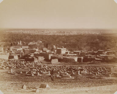 Vue générale de Damas prise de Lalhieh