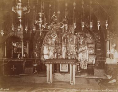 Le Calvaire, autel grec, Jerusalem