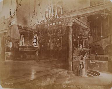 Interieur de l'Eglise de la Nativité, Bethlehem