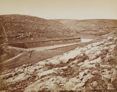 Vasques de Salomon, prés Bethlehem, Palestine