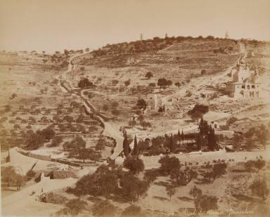 Mont des Oliviers, Jerusalem
