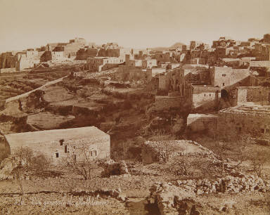 Vue générale de Bethlehem