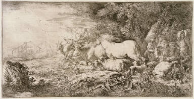 Noah and the Animals Entering the Ark