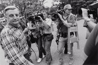 Walter Mondale and Media, North Oaks, Minnesota