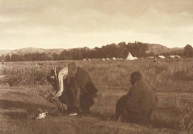Wood Gatherers, Cheyenne