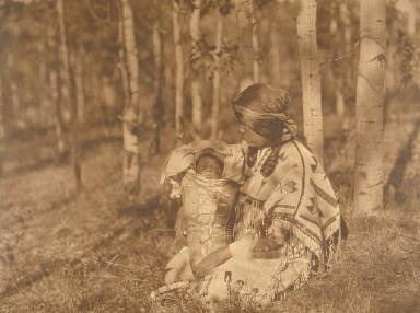 Assiniboin Mother and Child