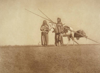 The Blackfoot Travois