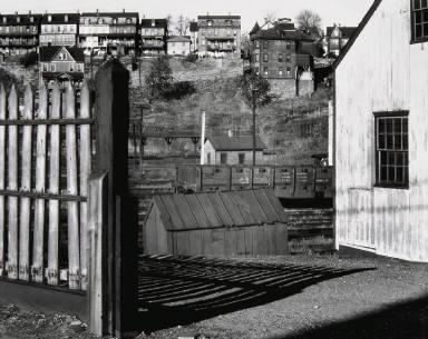 Railroad Yard and Houses, Bethlehem, Pennsylvania