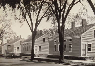 Millworkers' Houses in Willimantic, Connecticut