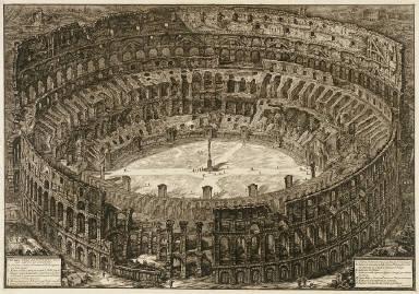 View of the Flavian Amphiteatre
